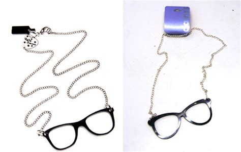Tatty Devines Glasses Necklace by Can You Spot The Difference Tatty