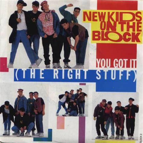 lyrics nkotb new on the block you got it the right stuff