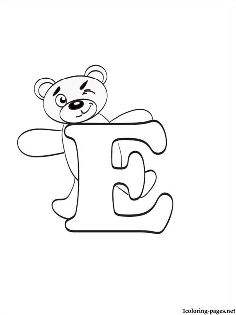 coloring pages with e free worksheets 187 printable letter e free math