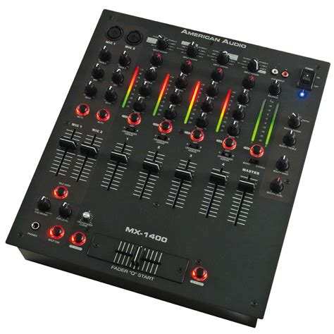 Audio Mixer American Standard american audio mx1400 professional 14 inch mixer 4 channel