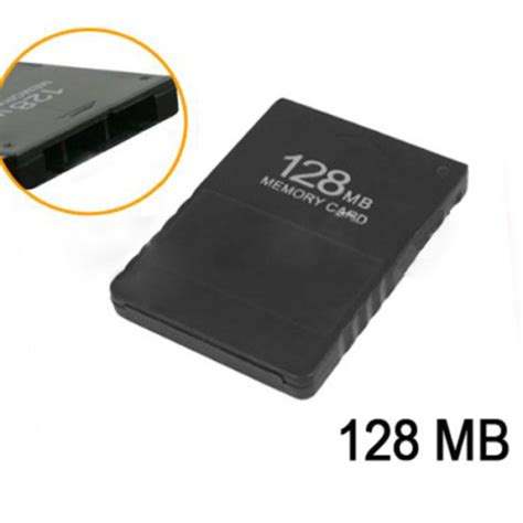 Memory Ps2 128mb memory card for playstation 2 ps2 black alex nld