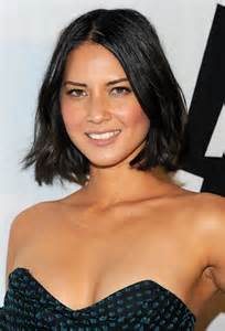 cheek bone length haircut 20 chic hairstyles from olivia munn pretty designs us55