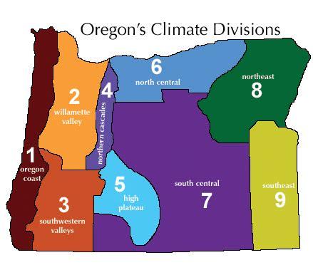 map of oregon regions oregon cannabis appellation regions a oregon