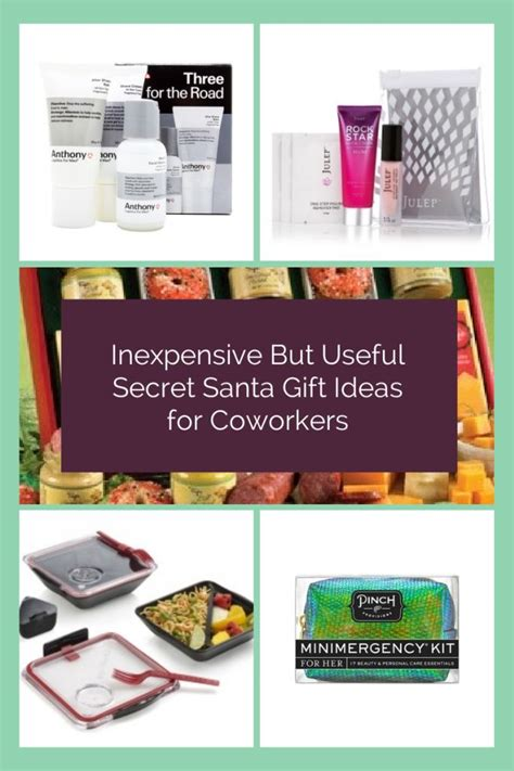 secret gifts for coworkers inexpensive but useful secret santa gift ideas for