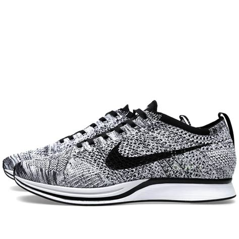 Nike Flyknite nike flyknit racer black white volt the sole supplier