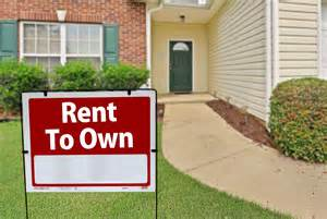 is rent to own home a idea