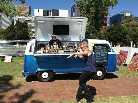 mobile cocktail bars vw kombi turned mobile bar in adelaide