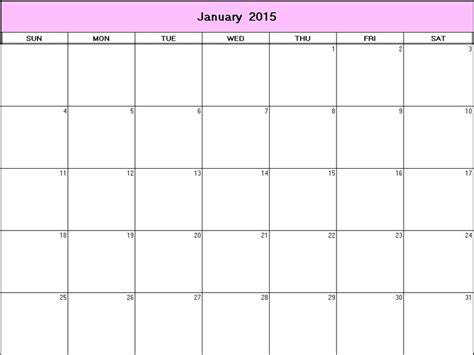 Printable Calendar 8 X 11 | 6 best images of free printable 2015 monthly calendars 8 x