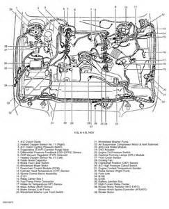 where is egr valve pressure sensor located on a 02 mercury grand marquis