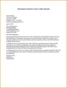 writing a cover letter for college admissions 11 application letter for admission to