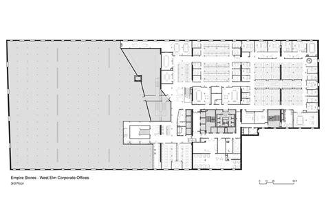 Floor Plan Of An Office Gallery Of West Elm Corporate Headquarters Vm