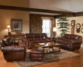 Leather Livingroom Furniture by Leather Italia Aspen Brown Sofa Amp Loveseat Set W Options
