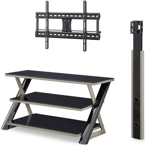 stand up l with shelves tv stands for flat screens with mount black holds up to