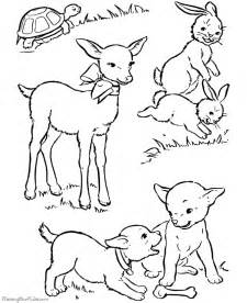 Galerry animals united coloring pages