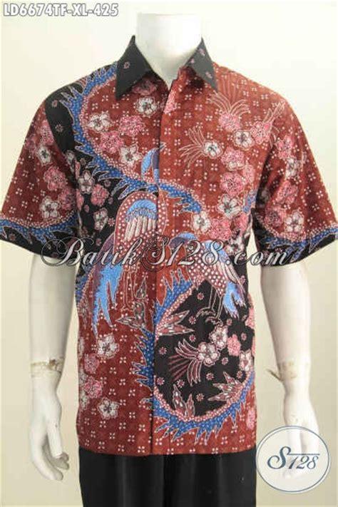 Q2 Kemeja Batik Slimfit Tangan Pendek Untuk Kode E2798 1 hem batik pria dewasa kemeja batik lengan pendek motif tulis tangan produk pakaian batik