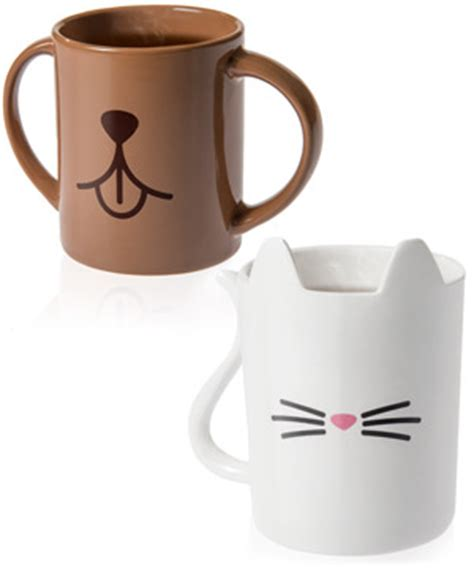 animal mug animal mugs gloriously adorable cat and dog drinking cups