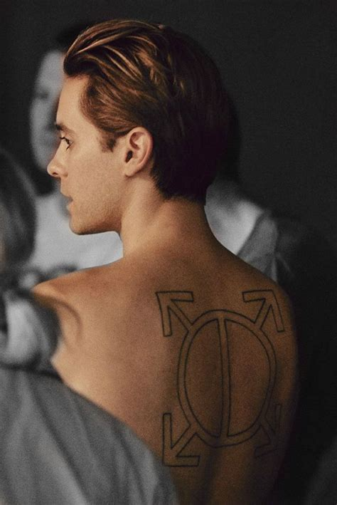 jl rear view hair images  pinterest jared