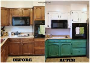 Before And After Kitchen Cabinet Painting Painting Kitchen Cabinets Part 2