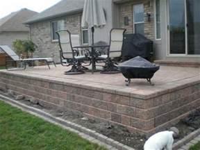 great raised concrete patio design ideas patio design 295