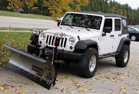 Snow Plow For A Jeep Wrangler Snow Dogg Snow Plow Jeep Jeep Jeep