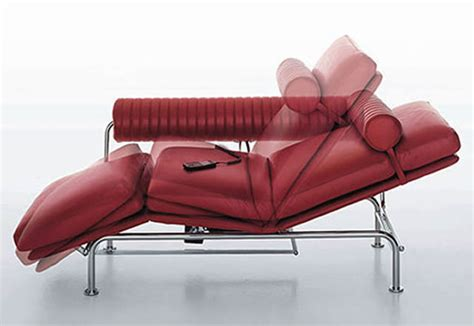 chaise lounge bed i4 mariani remote controlled up down lounge sofa