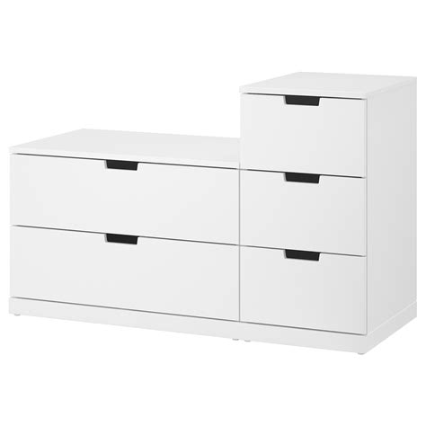 ikea nordli storage bed nordli chest of 5 drawers white 120x76 cm ikea