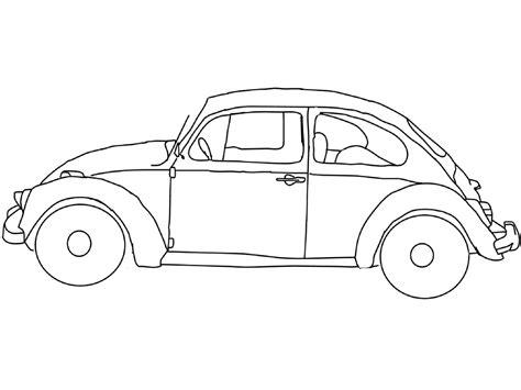 ausmalbild volkswagen beetle ausmalbilder kostenlos zum