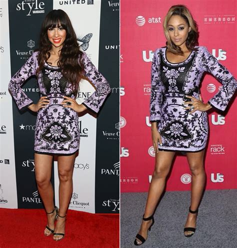 Who Wore It Better Sequined Balenciaga Babydoll Dress by Who Wore It Better Jackie Vs Mowry In Leila