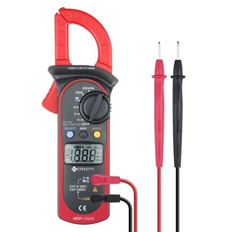 Multimeter Digital etekcity msr c600 digital lcd cl meter multimeter ac dc