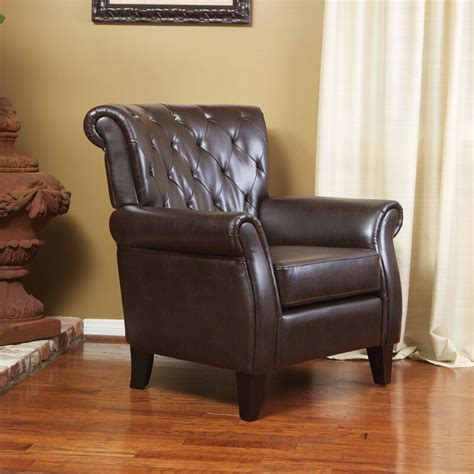 leather club chairs living room furniture large gorgeous brown leather club