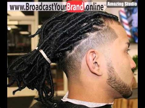 Short Dreadlocks With Edge Undercut   YouTube