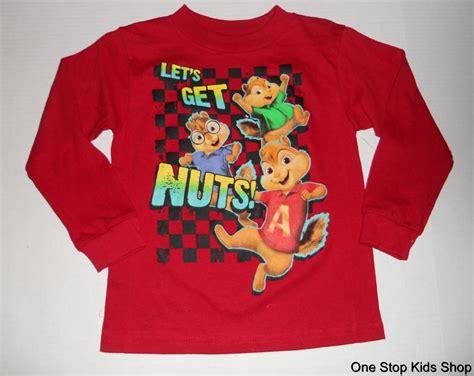 alvin and the chipmunks boys 4 5 8 sleeve shirt top