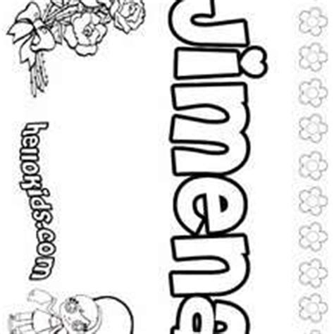 coloring pages of the name jasmine jenna coloring pages hellokids com