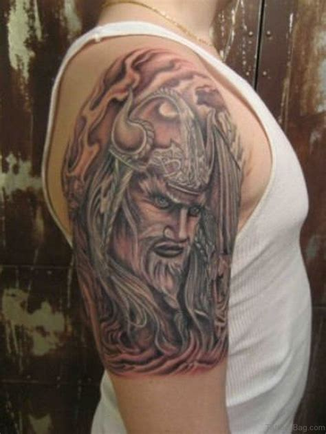 tribal warrior tattoo 57 magnifying viking tribal shoulder tattoos