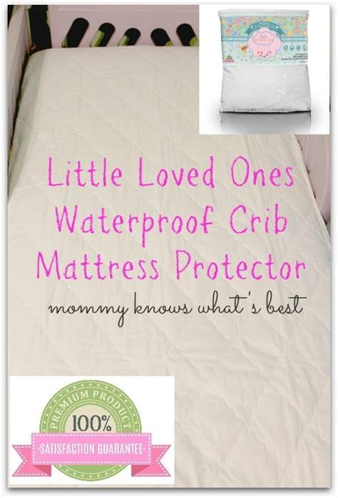 Best Crib Mattress Protector Waterproof Crib Mattress Protector When Get Sick