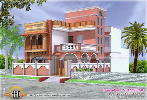house architecture design india mughal style house architecture kerala home design and floor plans