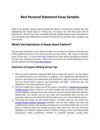 design clothes essay graphic design mission statement sles by personal