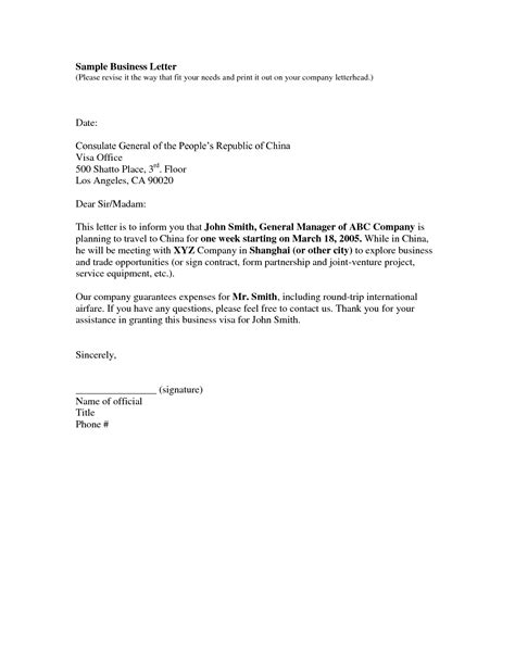 business letter templates free simple and easy to use business letter sles vlcpeque
