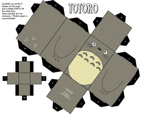 Cubeecraft Papercraft - totoro cubeecraft wallpaper 1482x1173 wallpoper