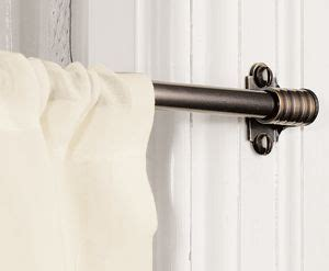 kitchen window curtain rods 25 best ideas about cafe curtain rods on pinterest cafe