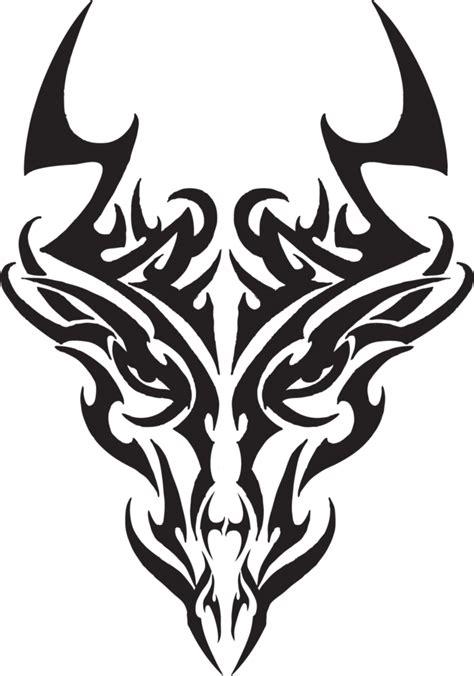 tribal tattoo dragon vector illustration tribal dragon head by liren on deviantart
