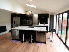 modern kitchen with island blanco norte quartz island worktops silestone modern