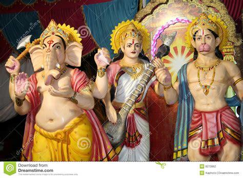 imagenes de la familia hindu dioses y diosa hind 250 es fotograf 237 a de archivo imagen 8270862