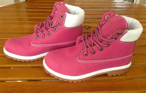 timbs shoes fuchsia timbs boots forebelle