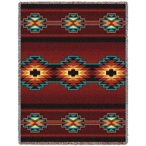 decke indianer muster southwest geometric throw