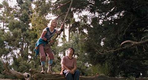 movies based on swinging the bridge to terabithia