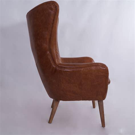 ohrensessel designklassiker vintage echtleder sessel exeter ohrensessel leder antik