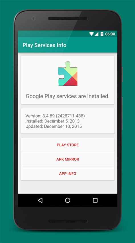 service android play services info android apps on play
