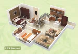 Interior Design For 1bhk Flat Floor Plans Green City Hadapsar Pune Arihant