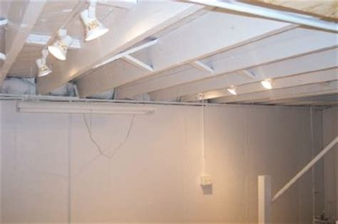 Lights For Basement Ceiling Open Up Low Basement Ceiling Low Ceiling Unfinished Basement Ceiling Lighting